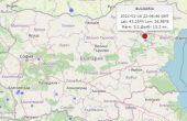 Земетресение на 90 километра от Варна