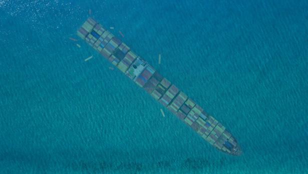 Кораб, плавал към България, потъна край турския бряг на Черно море (видео)
