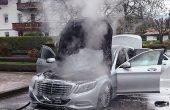 2 мерцедеса изгоряха за ден във Варненско