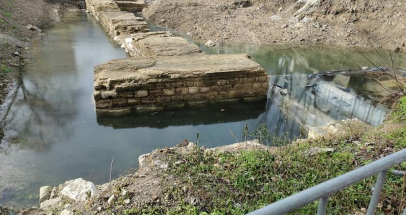 Подпочвени води наводниха портите на древния Одесос