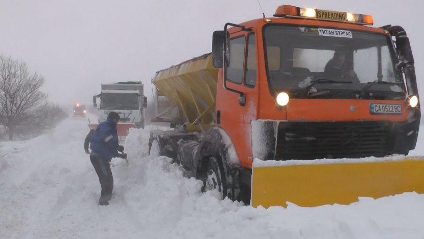 В Североизточна България ще продължи да вали сняг през следващите 24 часа