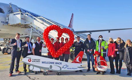 Turkish Airlines рестартира полетите си от Варна