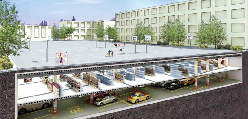 ДКС с нов паркинг