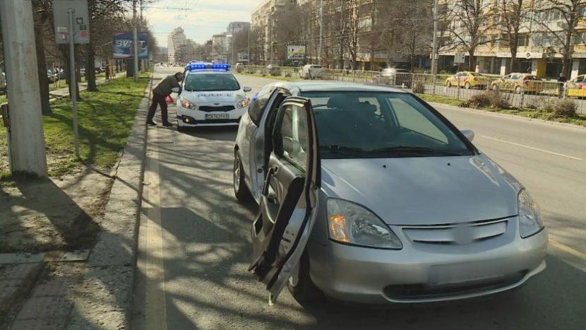 """Заловиха избягалия от ПТП-то на спирка """"Явор"""" – бил дрогиран и с отнета книжка"""