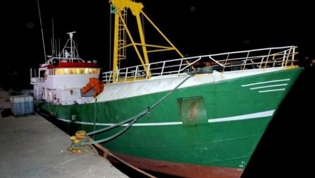 Хвахана български моряци с кокаин за $40 млн. на риболовен кораб