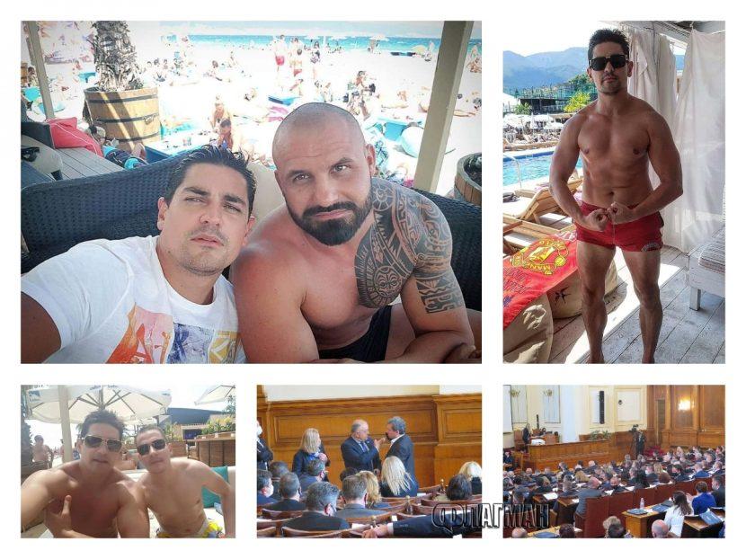 Хората на Слави омерзени от депутати на Борисов, от ГЕРБ контраатакуват с компроматни снимки