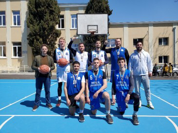 Медицинският университет е победител в турнира по стрийтбол 3х3