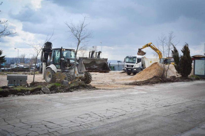 """Започна проект за обновяване на квартал """"Кайсиева градина"""" (снимки)"""