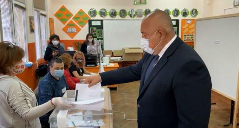 Борисов: Пожелавам честни и почтени избори