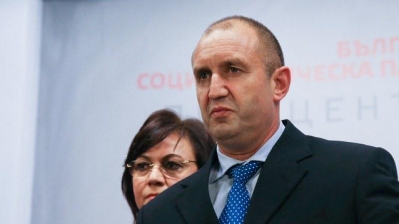 Румен Радев връчва мандат на БСП