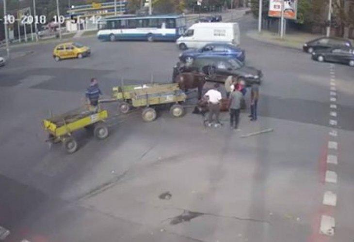 Две каруци се сблъскаха в село Аспарухово, каруцарите пияни