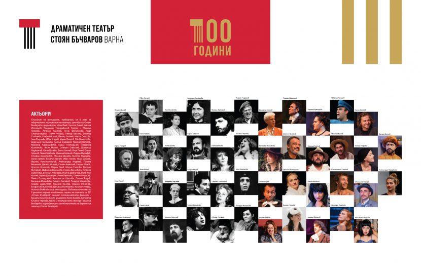 Представят изложба за юбилея на Драматичен театър – Варна