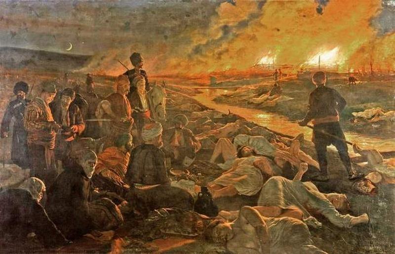 На 1 май 1876 г започва Баташкото клане
