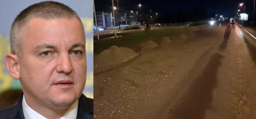 Варненец пита Иван Портних: това нормален път ли е в европейски град? (снимки)