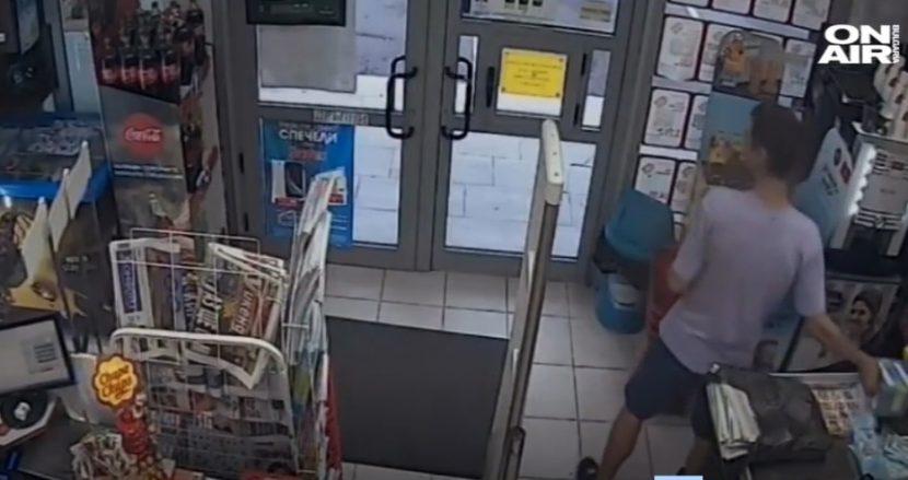 30-годишен мъж влезе в магазин и взе кутията с пари за онкоболно момче