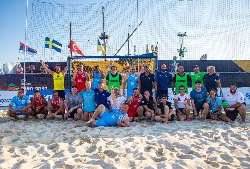 Европейското по плажен хандбал ще рекламира Варна и България още две години