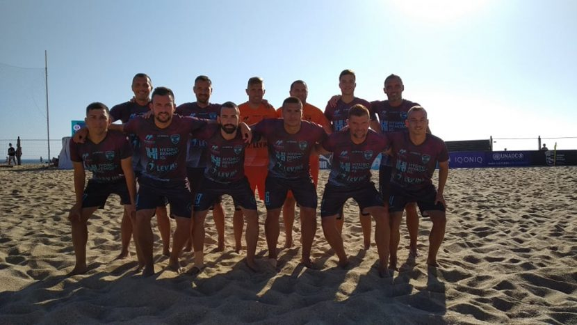 МФК Спартак се класира за 1/16-финал в Шампионската лига по плажен футбол
