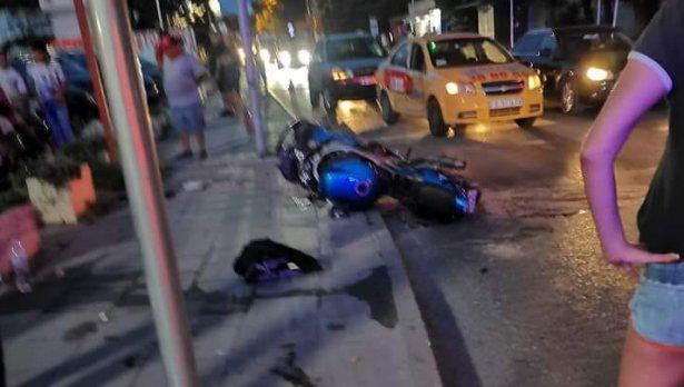 Моторист се потроши във Варна, баща му с призив за помощ