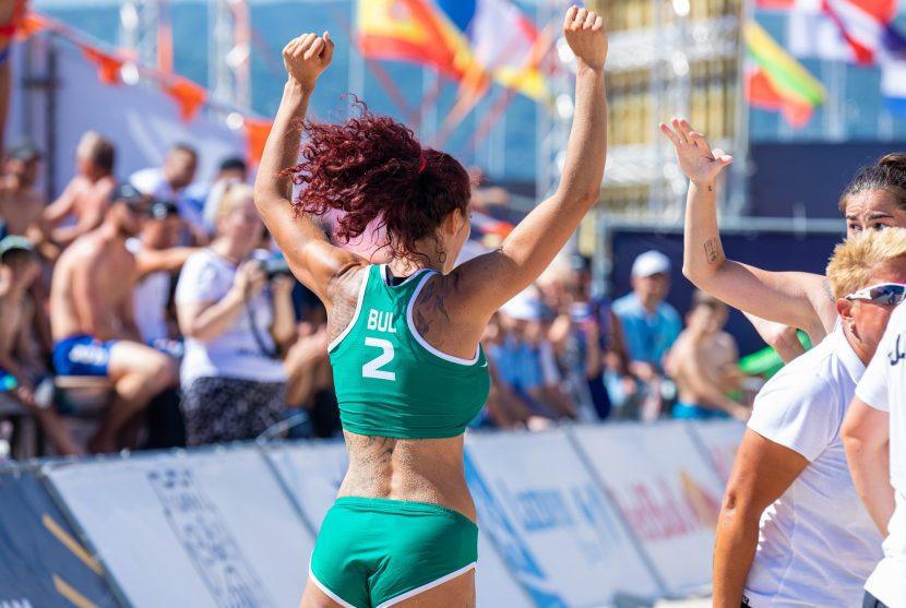 Бихме Румъния на Европейското по плажен хандбал във Варна