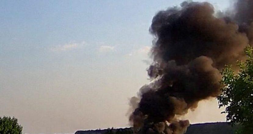 Кола изгоря напълно днес край Варна