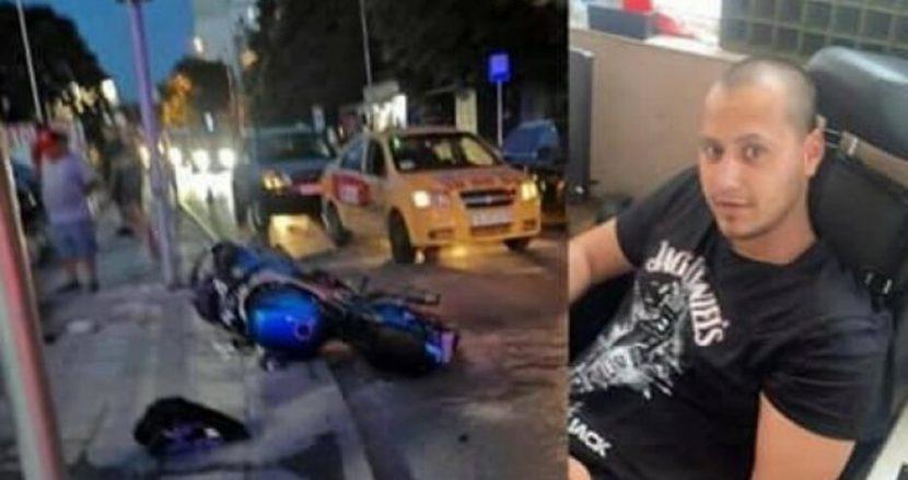 Починал е мотористът Петър Георгиев след катастрофа във Варна